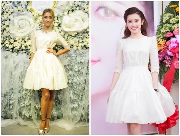 váy đầm xòe dự tiệc cưới