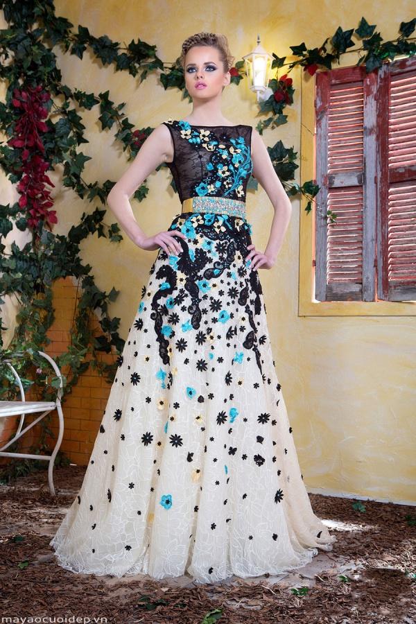 váy đầm ren dự tiệc