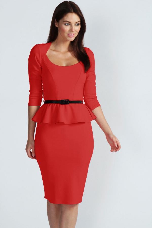 váy đầm đỏ dự tiệc