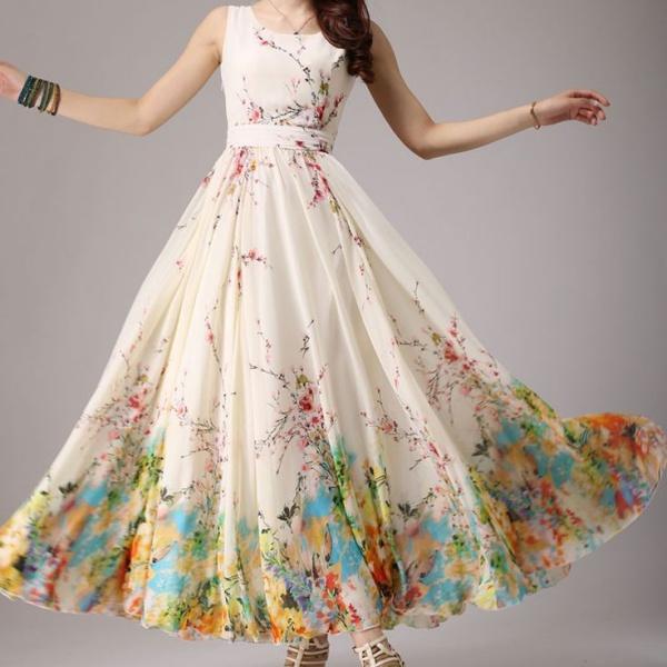 Váy đầm maxi dự tiệc