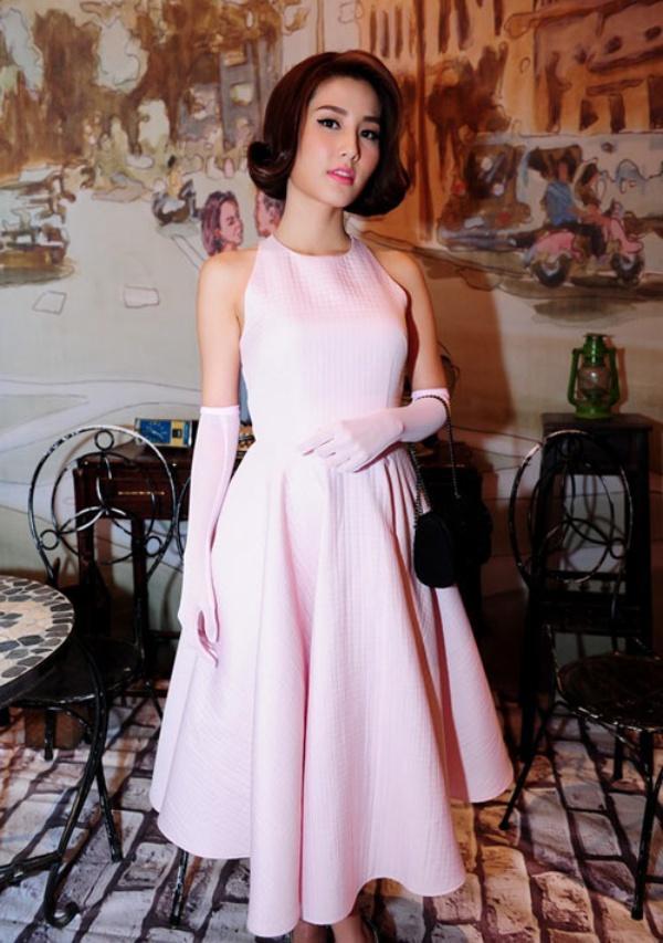 váy đầm chữ a dự tiệc