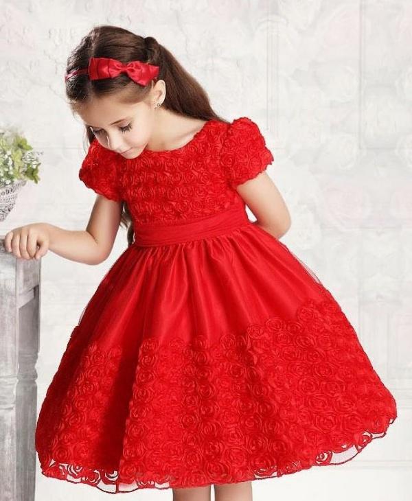 váy đầm dự tiệc cho bé