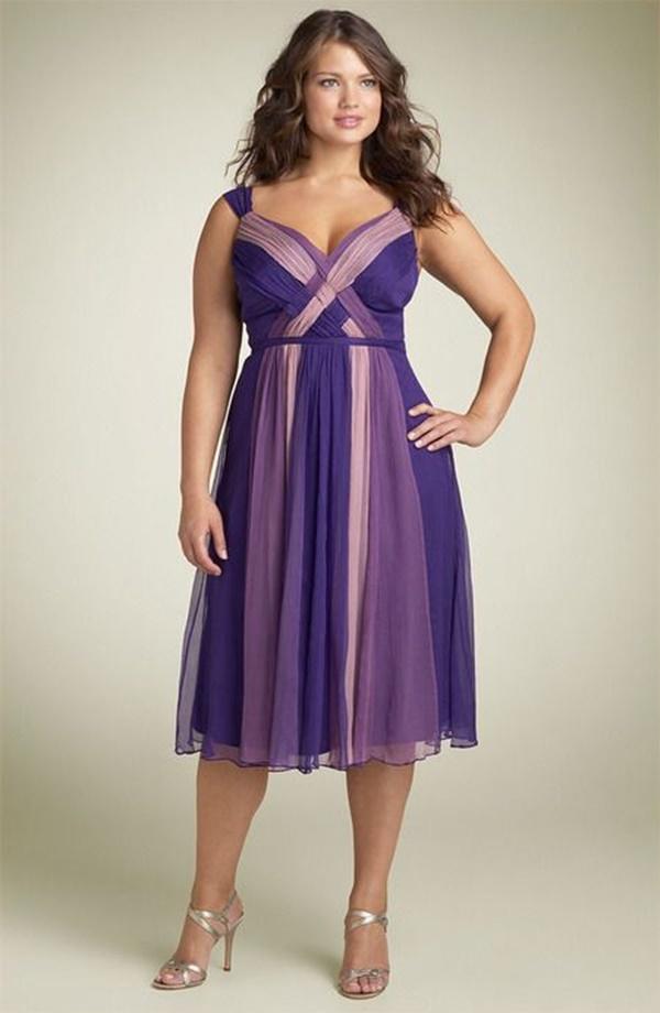 váy đầm dự tiệc cho người mập