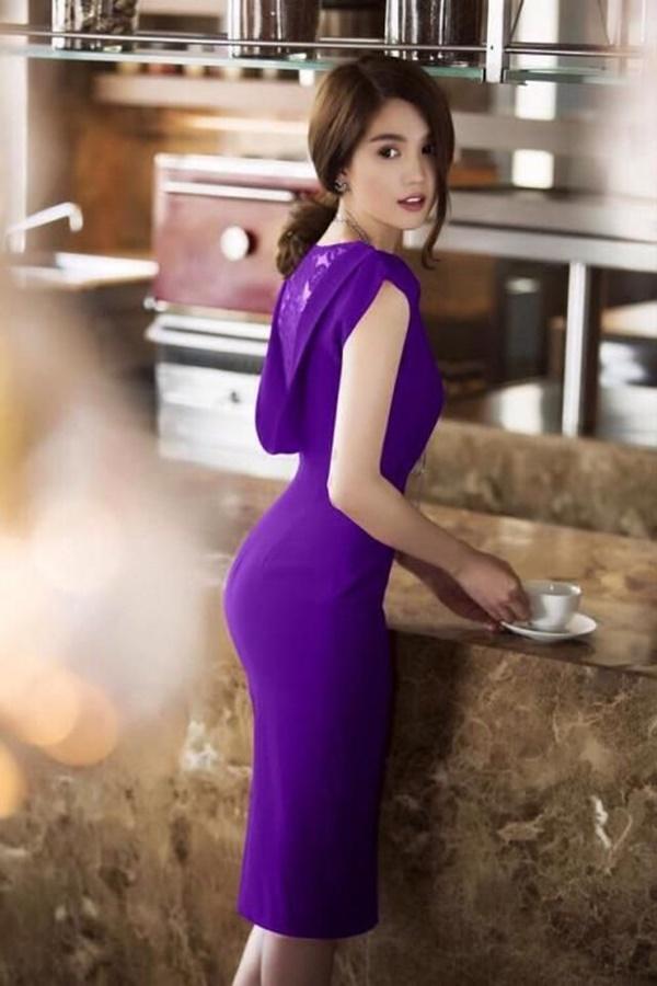 váy đầm dự tiệc ngọc trinh