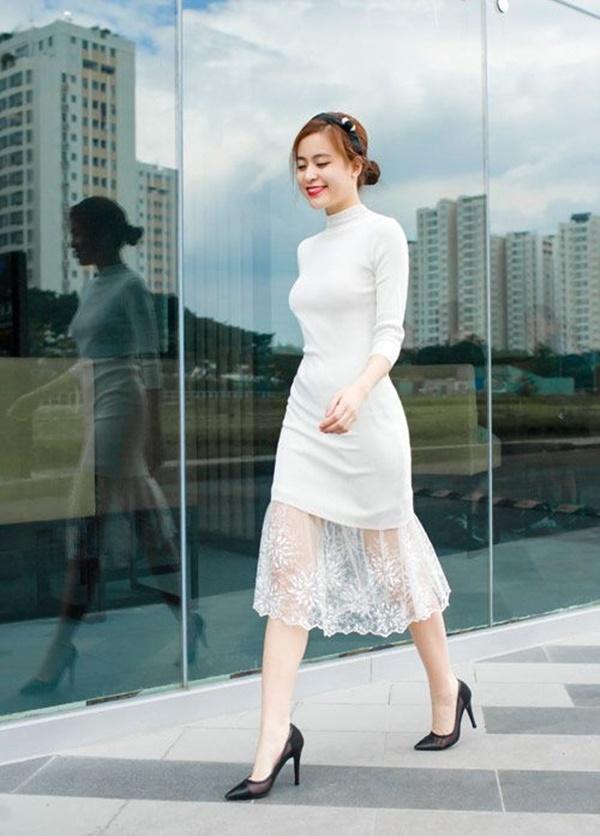 váy đầm dự tiệc tuổi 40