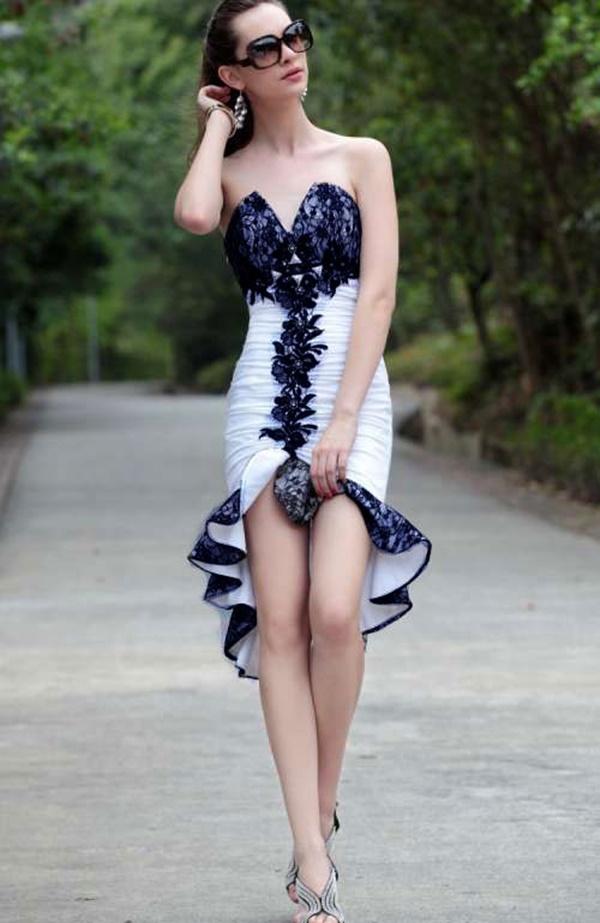 váy đầm đuôi tôm dự tiệc