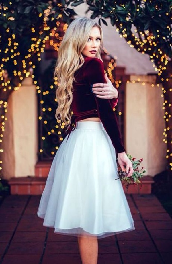 mix đồ dự tiệc cưới mùa đông