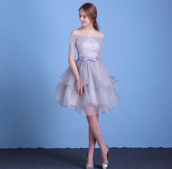 váy đầm dự tiệc đơn giản