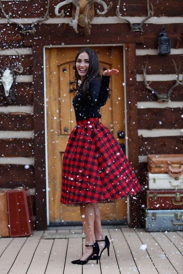 váy đầm dự tiệc giáng sinh