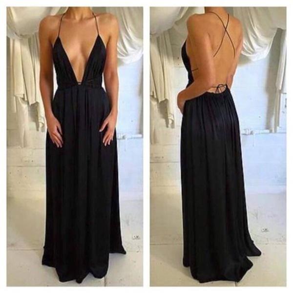 váy đầm dự tiệc hở lưng