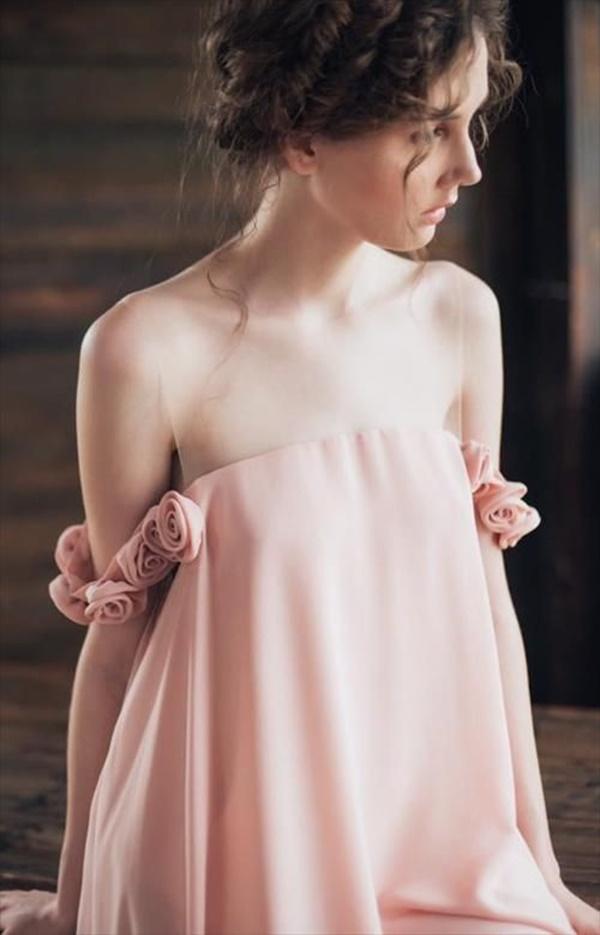 váy đầm dự tiệc hở vai