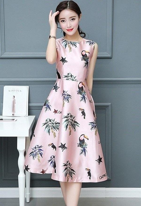váy đầm dự tiệc mùa thu