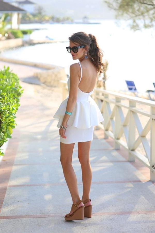 váy đầm dự tiệc ngắn