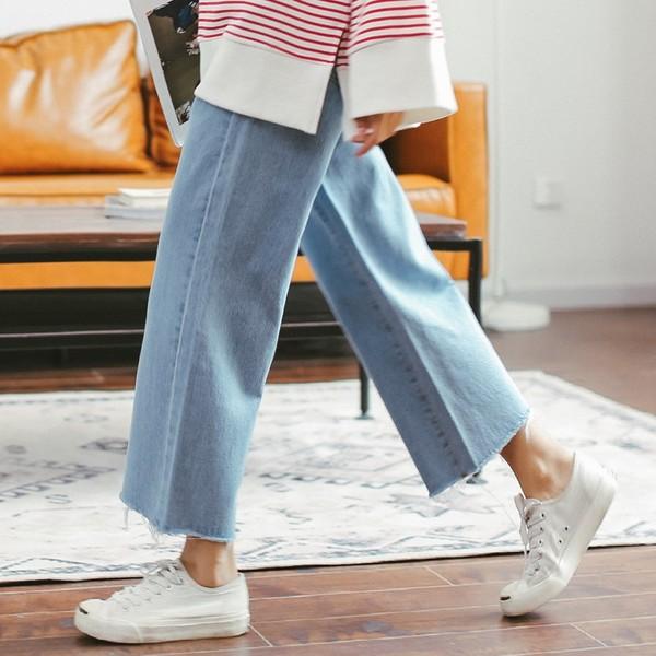 Quần jeans ống rộng Hàn Quốc 7