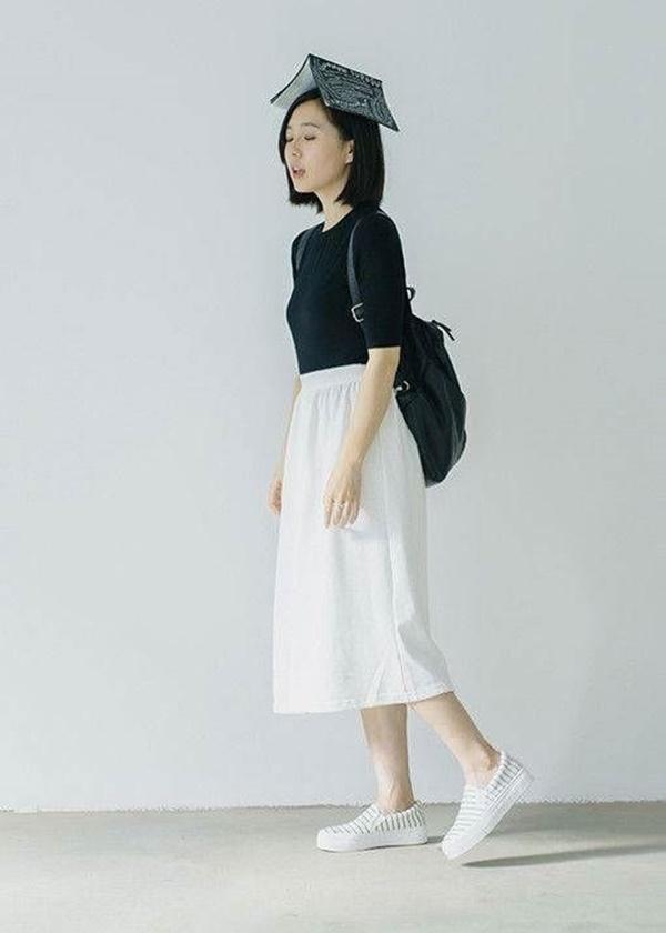 quần váy dài hàn quốc