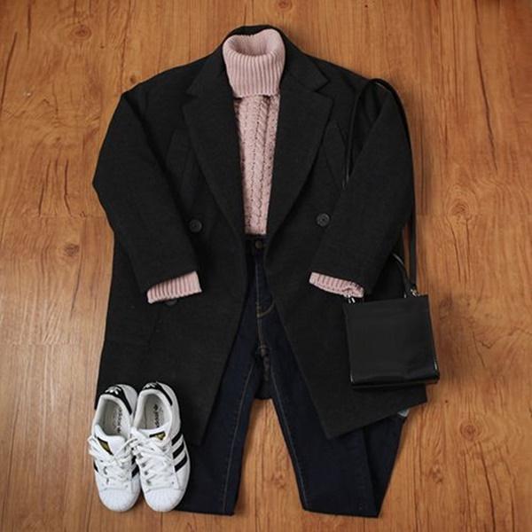 áo dạ hàn quốc