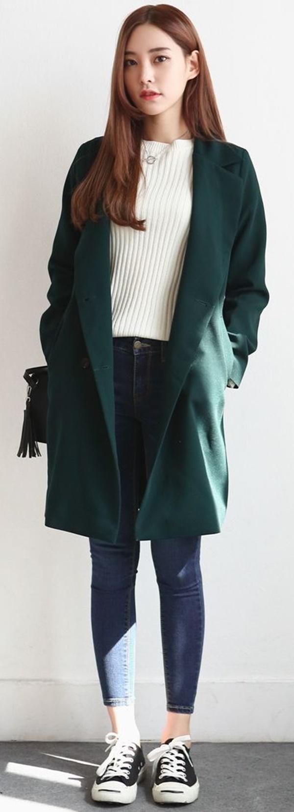 áo khoác hàn quốc nữ