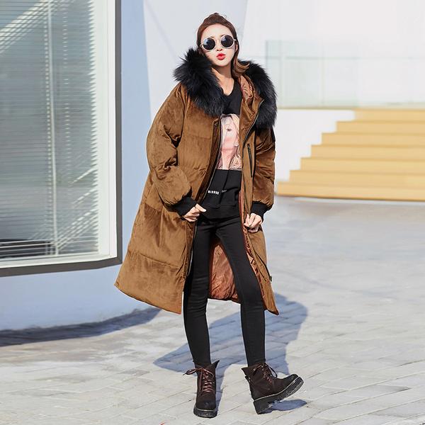áo khoác hàn quốc nữ dáng dài