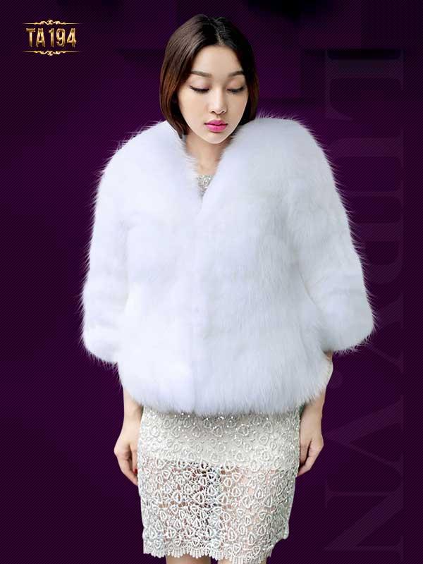 áo khoác lông hàn quốc