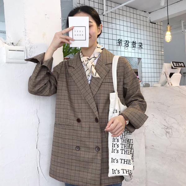 áo khoác lửng hàn quốc