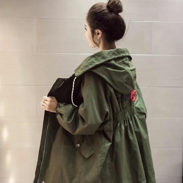 áo khoác quân đội hàn quốc