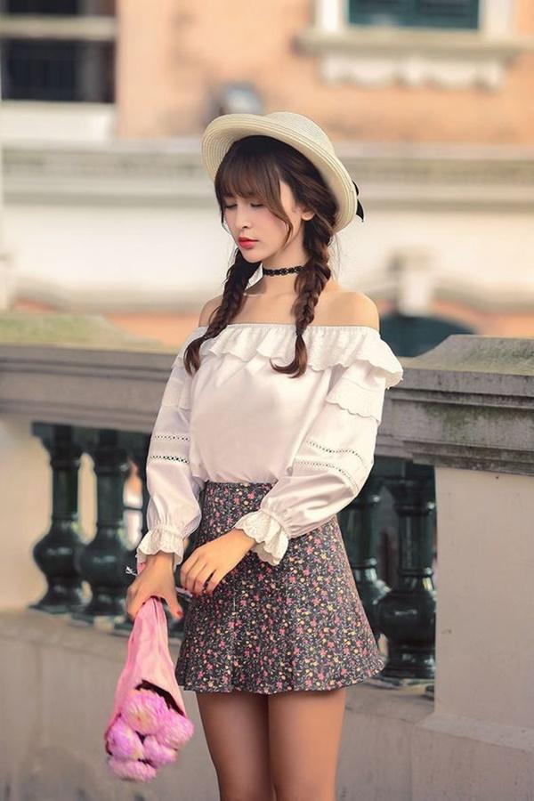 áo kiểu hàn quốc nữ