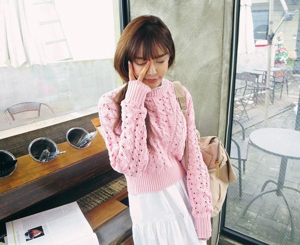 áo len nữ hàn quốc