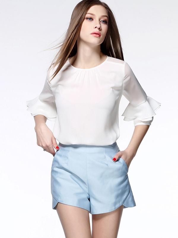 áo sơ mi trắng hàn quốc