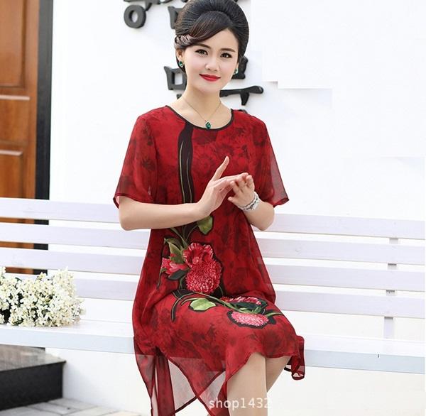 thời trang dạ hội cho tuổi trung niên