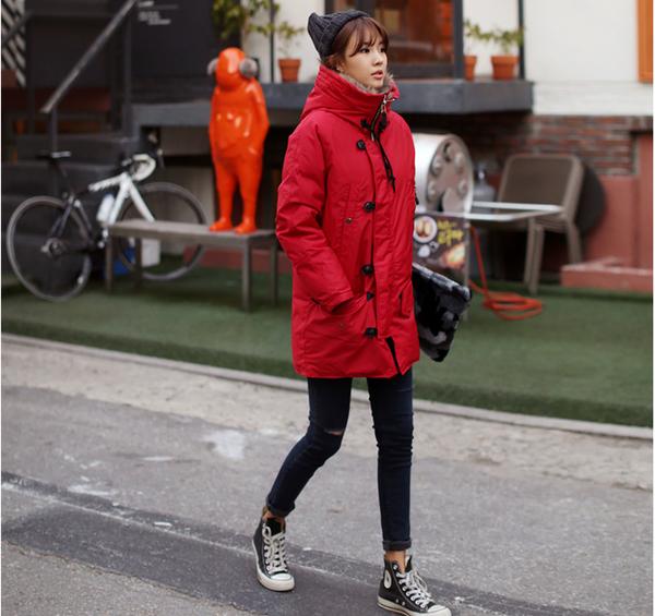 thời trang mùa đông hàn quốc